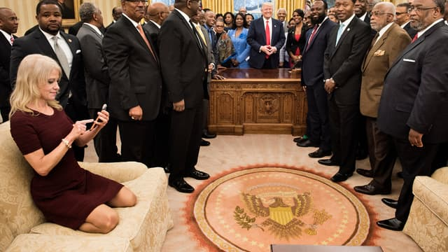 Kellyanne Conway, la conseillère de Donald Trump