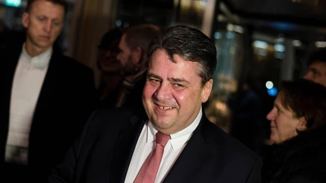 Sigmar Gabriel, président du parti social-démocrate et ministre de l'Economie et de l'Energie