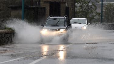 Image d'archives de pluies en Ardèche