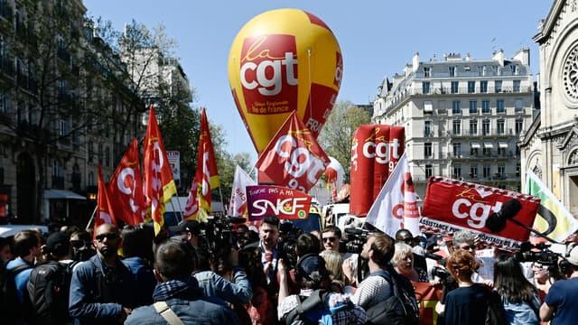 La CGT est le premier syndicat à la SNCF
