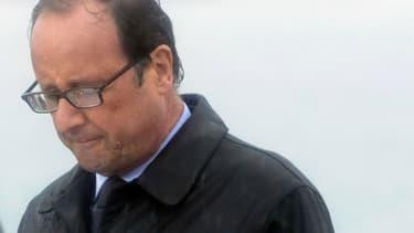 Les images de François Hollande sous le déluge sur l'île de Sein en août 2014 ont été largement commentées.