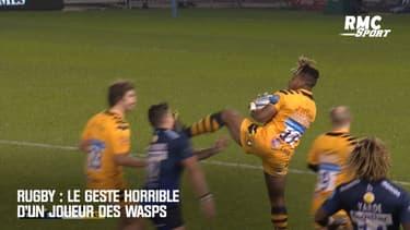 Rugby : Le geste horrible d'un joueur des Wasps