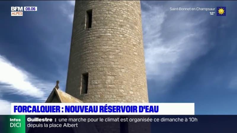 Un nouveau réservoir d'eau à Forcalquier pour remplacer l'actuel, vétuste