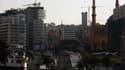 Vue de la ville de Beyrouth.