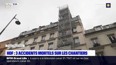 Hauts-de-France: 3 accidents mortels sur les chantiers