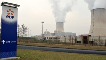 La centrale de Civaux dans le centre de la France, en mars 2011.