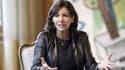 Anne Hidalgo le 17 novembre 2014 à la mairie de Paris.