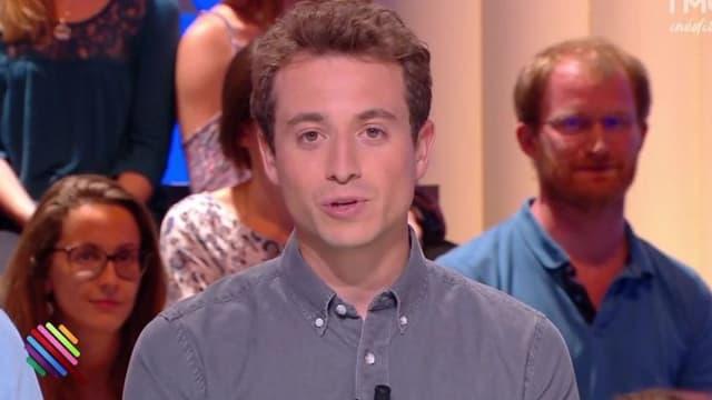 """Hugo Clément dans """"Quotidien"""""""