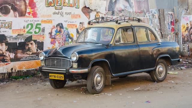 L'Ambassador a longtemps été la marque de voiture des officiels indiens.