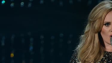 Adele sur scène