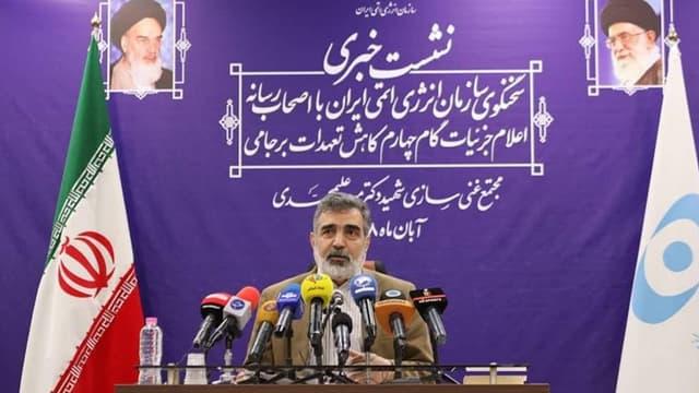 Le porte-parole de l'Organisation iranienne de l'énergie atomique (OIEA), Behrouz Kamalvandi