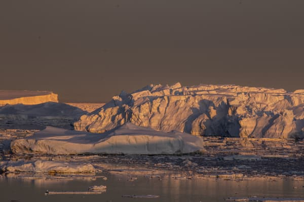 La banquise en Antarctique en 2020