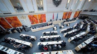 Le Parlement autrichien en décembre 2017. (Photo d'illustration)