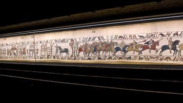 Le prêt de la Tapisserie de Bayeux à Londres n'est pas désintéressé, prévenait la presse britannique mercredi.