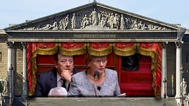 """Marie-George Buffet a eu droit à un """"joyeux aniversaire"""" à l'Assemblée natioanle."""