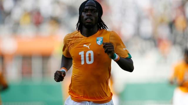 Gervinho, l'attaquant du LOSC et de la Côte d'Ivoire