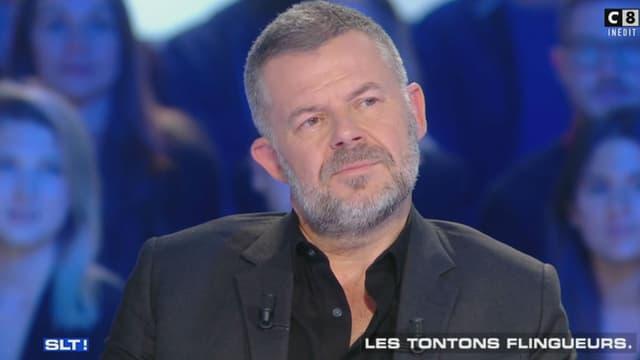 """Eric Naulleau sur le plateau de """"Salut les Terriens"""""""