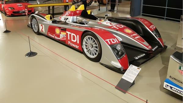 L'Audi R10 TDI victorieuse en 2006, 2007 et 2008
