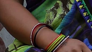 Une femme victime de viol à New Delhi (image d'illustration)