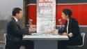 Manuel Valls sur le plateau de BFMTV et RMC
