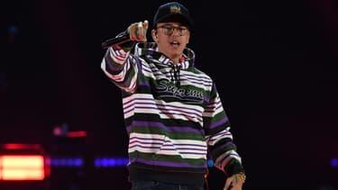 Le rappeur Logic à Las Vegas en 2018