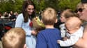 Kate Middleton a pris un bain de foule lors de sa visite au Luxembourg