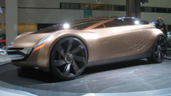 Le concept Mazda Nagere a été dessiné par Laurens van den Acker en 2006.