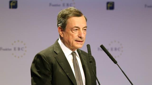 """Mario Draghi a évoqué """"une étape majeure"""""""