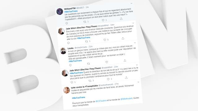 Les témoignages de transphobie affluent sur Twitter.