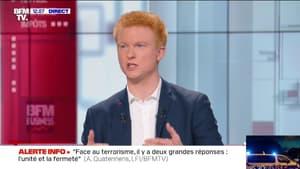 """Adrien Quatennens: """"Depuis 10 jours, on nous colle une étiquette d'islamo-gauchiste sur la figure"""""""