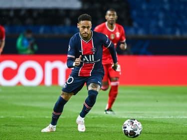 Neymar lors de PSG-Bayern