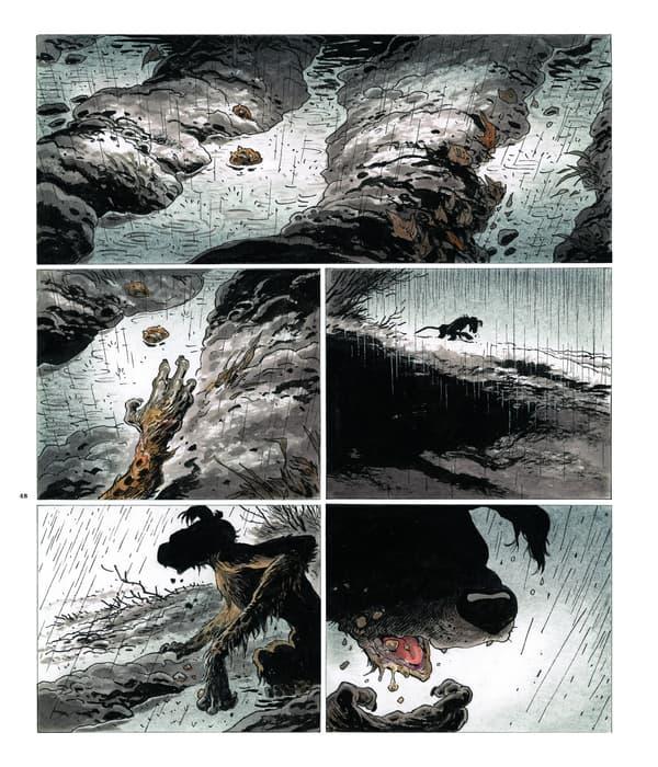Le Marsupilami réaliste du dessinateur Frank Pé