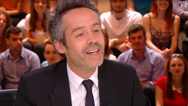 """Yann Barthès sur le plateau de """"Quotidien"""""""