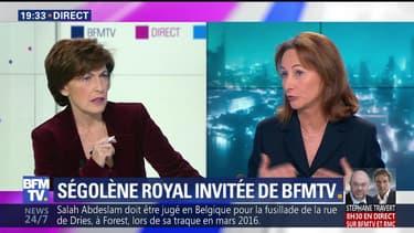 Ruth Elkrief reçoit Ségolène Royal