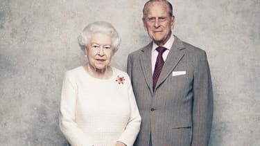 Elizabeth II et son époux Philip.