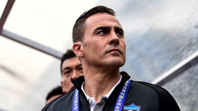 Fabio Cannavaro a manqué ses débuts à la tête de la sélection chinoise.