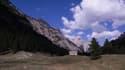 Le col de l'Échelle dans les Hautes-Alpes, où la stèle et la chapelle ont été vandalisés.