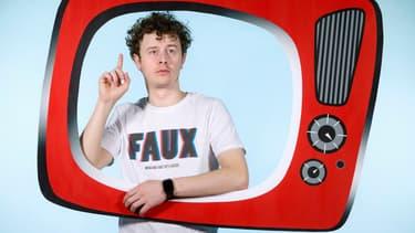 Le célèbre youtubeur français Norman.