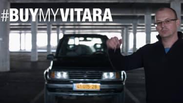 Eugene Romanovsky a mis en scène son Vitara de 1996 dans une vidéo façon blockbuster, afin de le vendre. La vidéo est devenue virale.