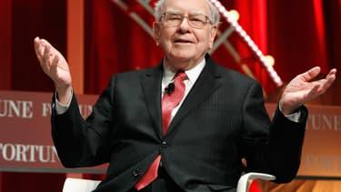 Warren Buffett apparaît sur les bouteilles de Coca-Cola Cherry en Chine.