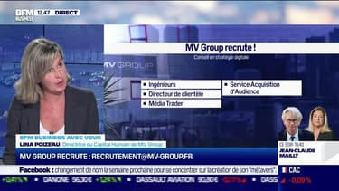 Vous recrutez : MV Group / Finary - 20/10