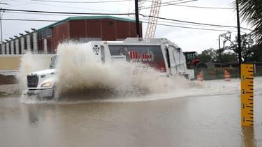 Des Inondations à La Nouvelle-Orléans en 2017