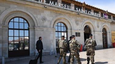 L'homme a été interpellé dans la gare Saint-Charles de Marseille