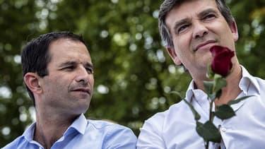 Arnaud Montebourg a appelé lundi à voter Benoît Hamon.