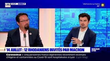 Cérémonie du 14 juillet: Loïc Rey, président de la Croix-Rouge dans le Rhône, était l'invité de Bonjour Lyon