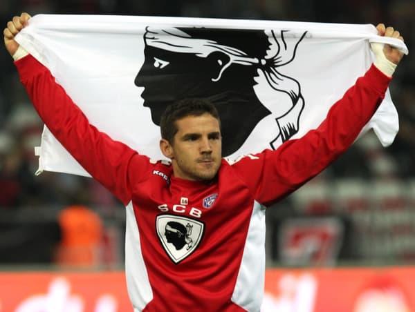Jean-Louis Leca à la fin du match