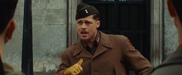 Brad Pitt dans Inglourious Basterds.
