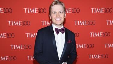 Ronan Farrow en avril 2017 au gala du journal Time, à New York.
