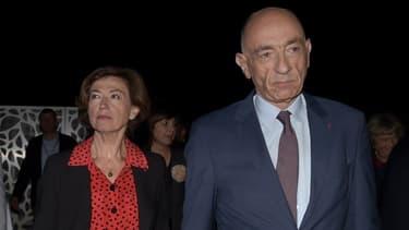 Anne-Marie Couderc et son prédécesseur, Jean-Marc Janaillac.