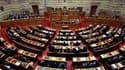 Le parlement grec a approuvé lundi la loi d'austérité très impopulaire destinée à assurer l'octroi au pays d'une deuxième aide financière de la part de l'Union européenne et du Fonds monétaire international et à éviter une cessation de paiement. /Photo pr